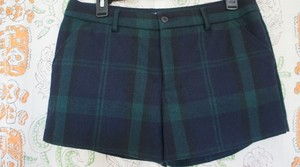 Gap Mini/Short Shorts Navy Plaid