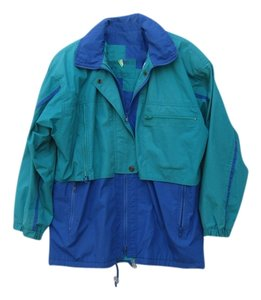 London Fog Teal & Blue Jacket