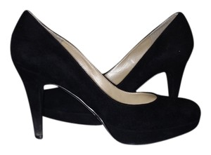 Marc Fisher Black Suede Pumps
