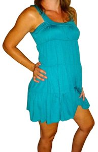 Mai Tai short dress Teal Blue Aqua on Tradesy