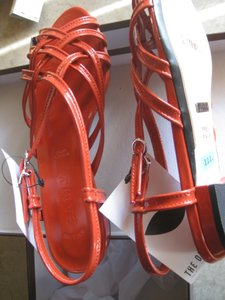 Bally Patent Leather Red Sandals