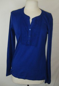 Karen Scott Top ROYAL BLUE