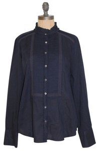 J.Crew Career Button Down Shirt BLUE