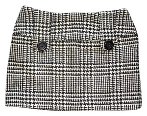 Other Tweed Tweed Tweed Mini Skirt black and white