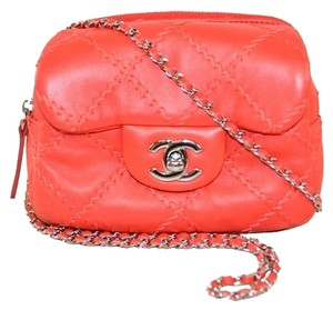 Chanel Wallet Lambskin On Chain Cross Body Bag