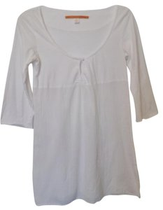 Anthropologie Saturday Sunday Gauze Top White