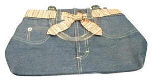 Longaberger Satchel in Blue