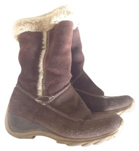 Waterproof Leather brown Boots