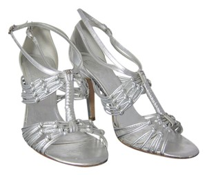 Chanel Wedding Bridal Heels Silver Formal