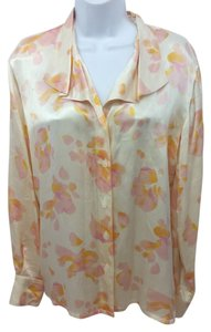 Escada Margaretha Ley Silk Blouse Button Down Shirt