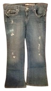 DKNY Boyfriend Cut Jeans-Distressed