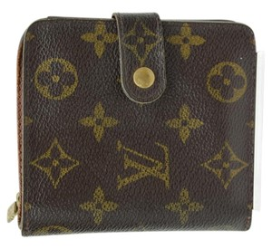 Louis Vuitton Monogram Zippy Wallet with Coin purse -768