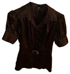 Self Esteem Top Dark Brown
