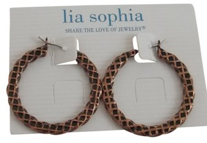 Lia Sophia Lia Sophia Hoop Earrings