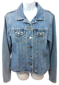 Faonnable Faconnable Denim Jean BLUE Womens Jean Jacket