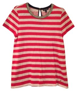 Juicy Couture T Shirt Red and white