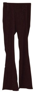 Necessary Objects Boot Cut Pants Dark Brown