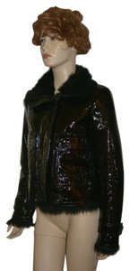 Burberry Women's New Patent Leather Jacket