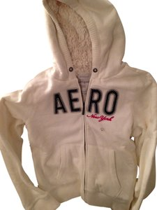 Aéropostale Faux Warm Coat Jacket Sweatshirt