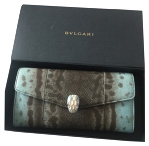 BVLGARI Bvlgari Serpenti Bi-fold Long Wallet Like New