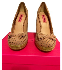 Betsey Johnson Pink Platforms