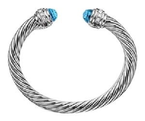 David Yurman David Yurman Cable Classics Collection - 7mm Blue Topaz