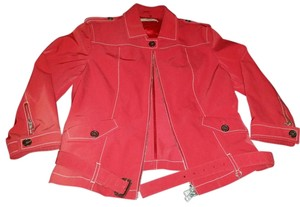 Prada Bomber Vintage Red Jacket