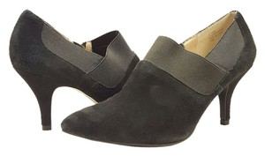 Ellen Tracy Suede Leather Black Boots