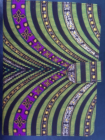 Eclectic Chique Ankara Printed Durable iPad Case (Not for mini)