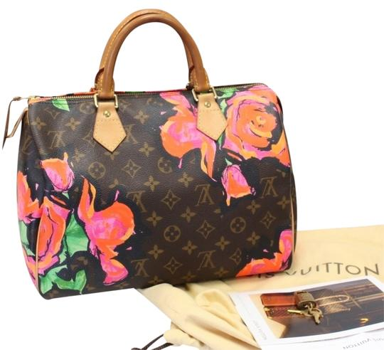 Preload https://item2.tradesy.com/images/louis-vuitton-speedy-limited-edition-roses-30-stephen-sprouse-monogram-leather-shoulder-bag-1177176-0-0.jpg?width=440&height=440