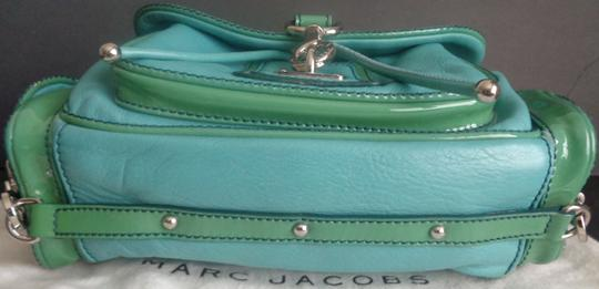 Marc Jacobs Leather Patent Leather Suede Silver Hardware Bundle Available Shoulder Bag Image 4