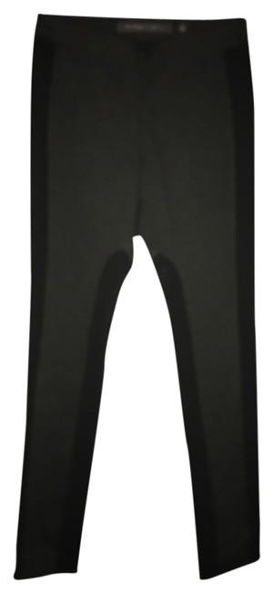 Item - Charcoal Gray with Black Trim Leggings Size 6 (S, 28)