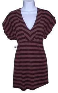 Ella Moss Striped Rayon Machine Washable Tunic