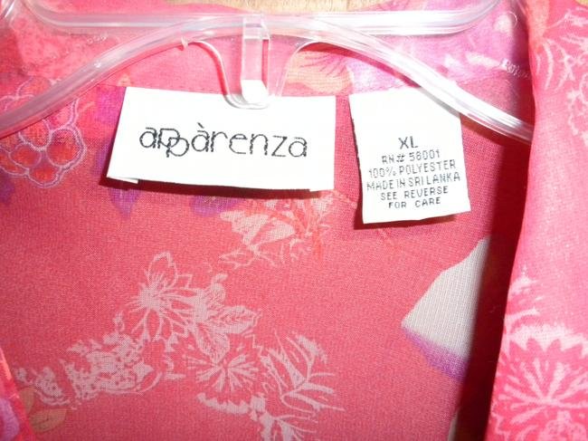 Apparenza 2 Piece Easy Care Dressy Top CORAL