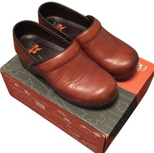 Dansko Burnished Whisky Mules