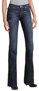 Rock & Republic Nordstrom Savvy & New With Tags Nwt Denim Dark Wash 29 Boot Cut Jeans-Dark Rinse