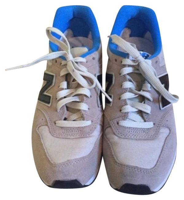 Item - Gray Black Blue Sneakers Size US 7.5 Regular (M, B)