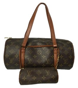 Louis Vuitton Papillon With Pouch Papillon Alma Speedy Neverfull Satchel in Brown