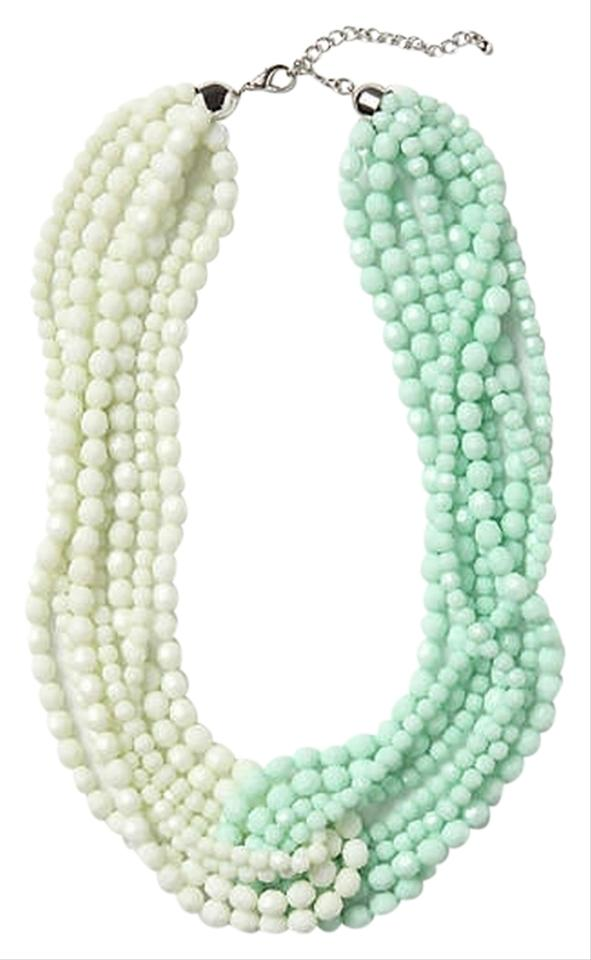 10 Kitchen And Home Decor Items Every 20 Something Needs: Anthropologie White Turquoise Double Torsade Necklace