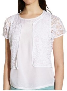 Miguelina Embroidered Lace Cardigan
