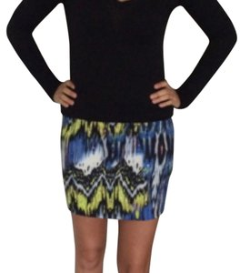 Rampage Mini Skirt Blue/Yellow