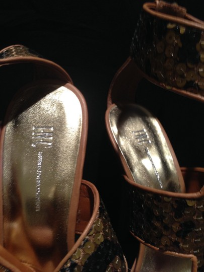 INC International Concepts BRONZE Sandals