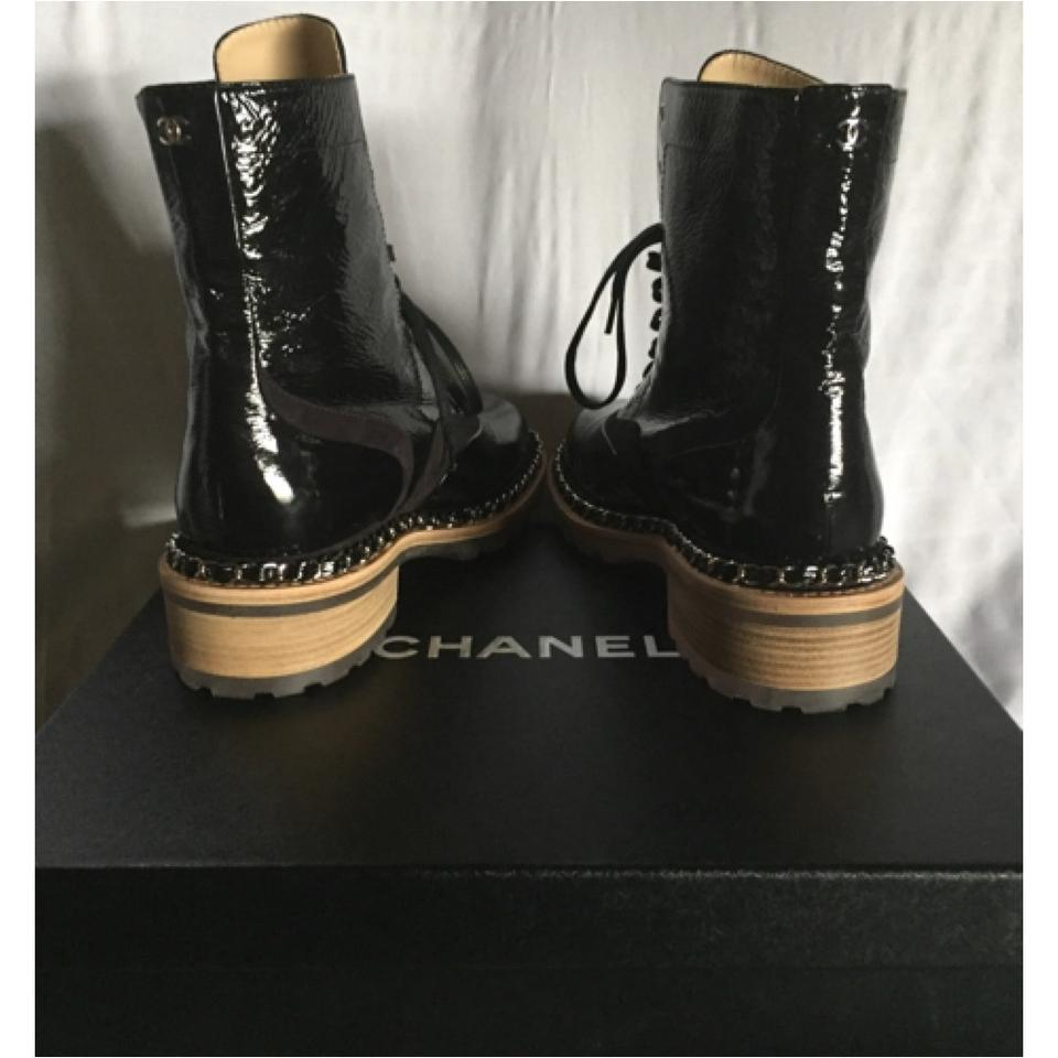 49f054cdaf82 ... Chanel Black Patent Boots. 12345678 another chance 564ac 43e2c ...