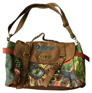Desigual Satchel in Brown And Colors