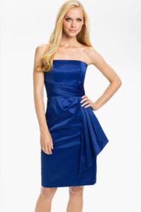 Monique Lhuillier Electric Blue Dress