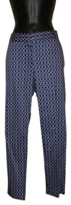 Joe Fresh Cropped Capri/Cropped Pants Blue & White