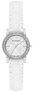 Burberry Burberry BU9221 Swiss 54 Diamonds Bezel Alligator White Watch $1,795