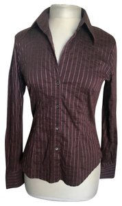 Marella Button Down Shirt Purple