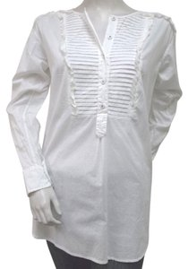 Rebecca Taylor Ruffled Top White