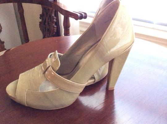Linea Paolo Olive Green Pumps